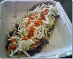 Huaraches from el charrito