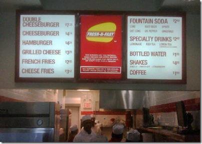 fresh-n-fast menu